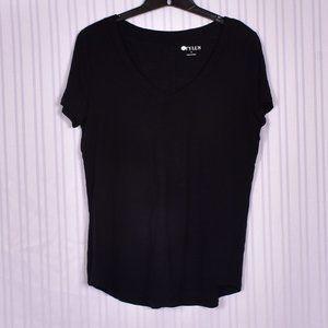 Stylus Black Short Sleeve Medium Tee Shirt